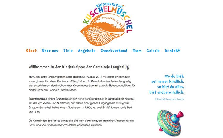 Kinderkrippe Kuschel-Muschel