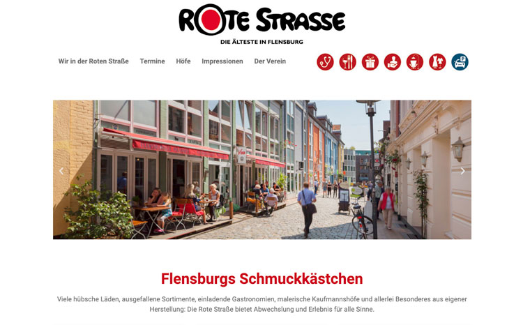 Rote Strasse, Flensburg